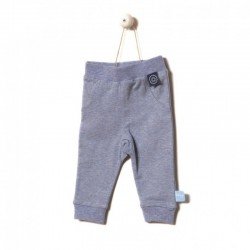 Snoozebaby Pants in Blue melange
