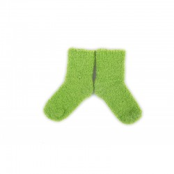 PLUSH Cozy Baby Socks 0-2 years - Green