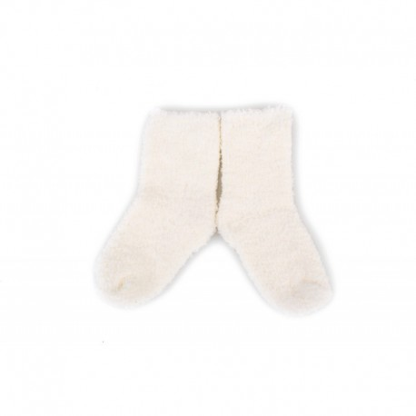 PLUSH® Cozy socks 0-2 years - white
