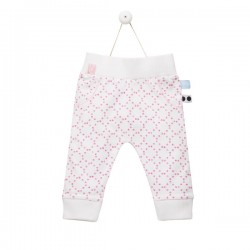 Snoozebaby Suave pants stamped dot Funky Pink