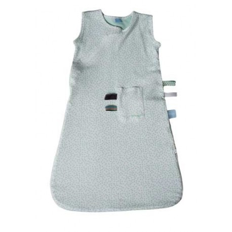 Snoozebaby Sleepsuit 9-24 months - Mint Dot