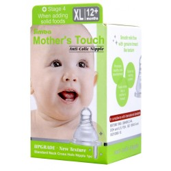 Simba Mother's Touch Standard Neck/Cross-Hole Anti-colic Nipple XL - 1pc