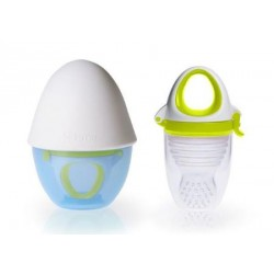 Kidsme Food Feeder Plus / Grinder (Lime)