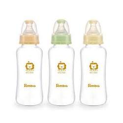 Simba Ultra Light Standard Neck Glass Feeding Bottle (300ml)