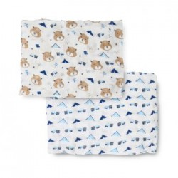 Bebe Bamboo Bamboo Muslin Swaddle - Chipmunk in the Wild