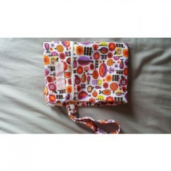 Bebe Avenue Double Zippered Wet Bag- Apples