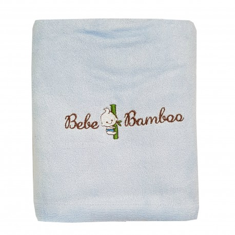 Bebe Bamboo 100% Bamboo Adult Bath Towel Blue
