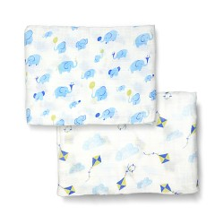 Bebe Bamboo Bamboo Muslin Swaddle - Dream Big, Fly High!