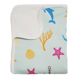 Bebe Bamboo  Double Layer Blanket - Ocean