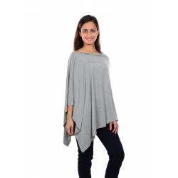 Bebe Bamboo Nursing Shawl - Grey