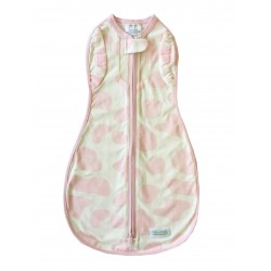 Vented Convertible Woombie - Mini Moo Pink