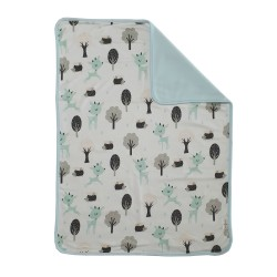 Bebe Bamboo Changing Mat (Green Deer)