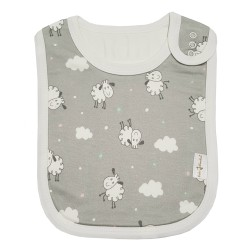 Bebe Bamboo Adjustable Bamboo Bib (Sheep)