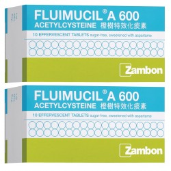 Fluimucil 600mg Twin Pack