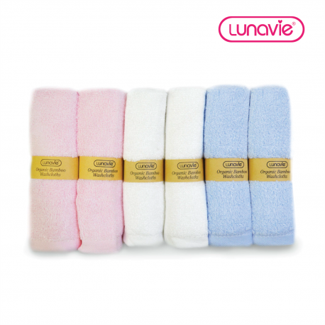 Lunavie Bamboo Washcloth (6pcs)